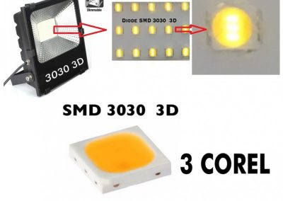 proyector 200w smd 3030 profesional core