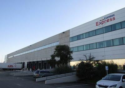 Ahorro energético en el Centro logístico de Correos Express