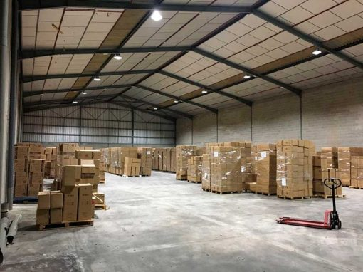 Instalación de Led Industrial en LILones