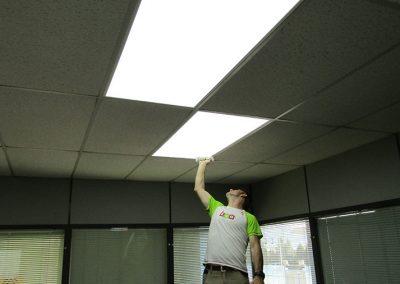 Cambio iluminación Led