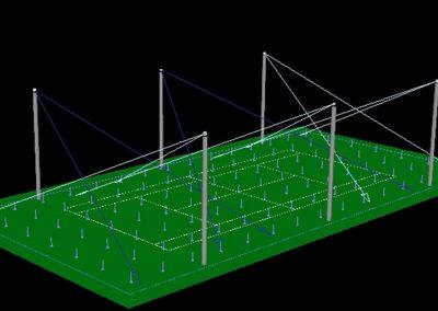 led industrial iluminacion centros deportivos 3