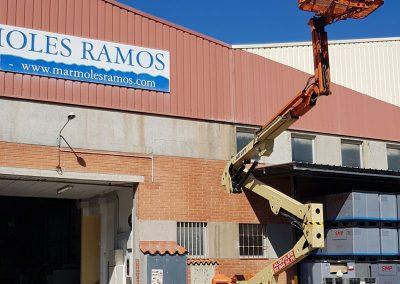 Sustituir Luminaria de Vapor para Mármoles Ramos