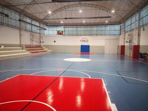 Nueva iluminación deportiva LED en Club de Basket Sant Pere (Terrassa)