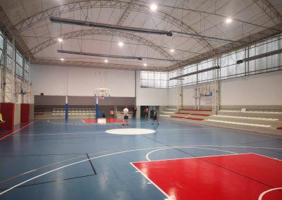 Iluminacion LED Pista Basket terrasa 3