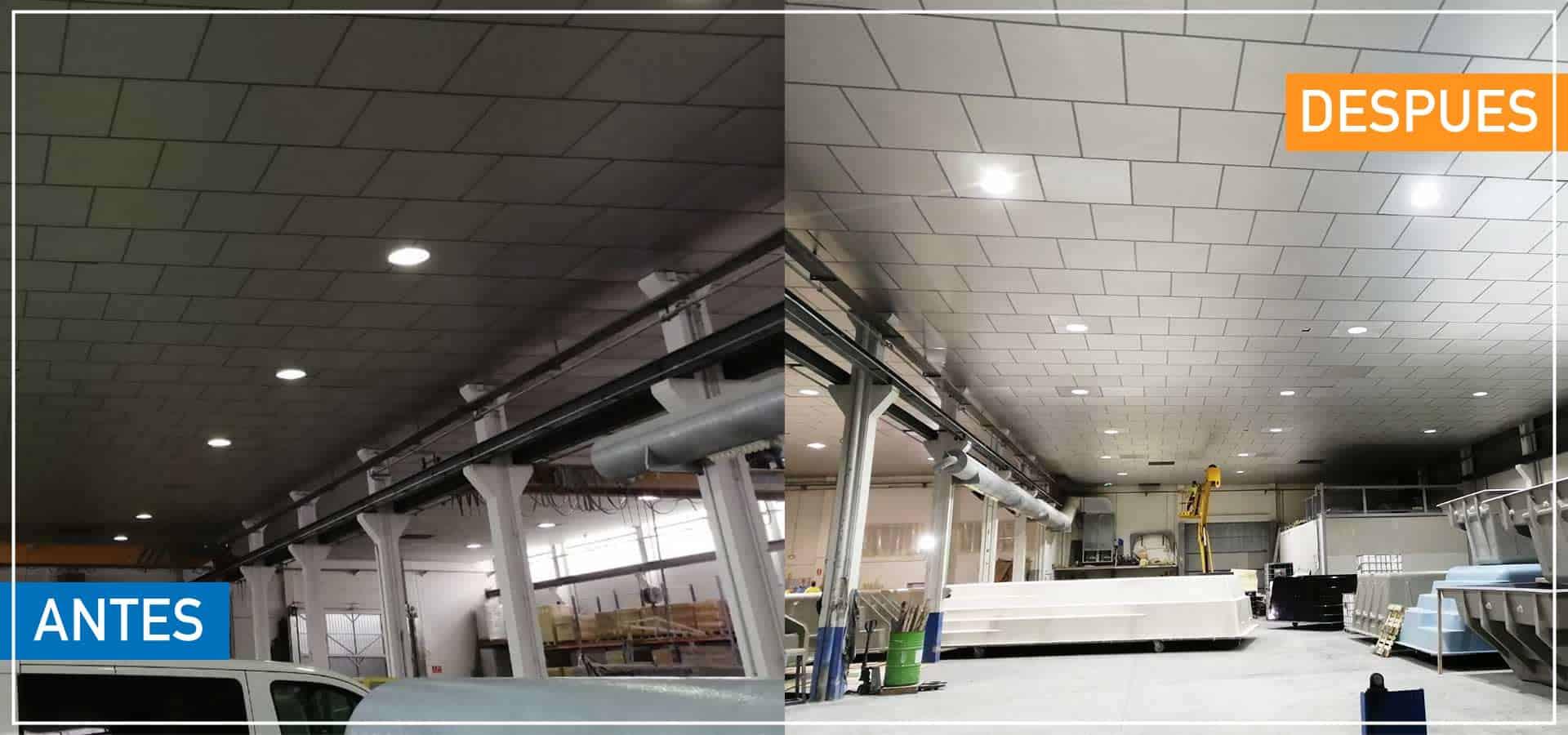 Proyecto Iluminación reemplazo Luminarias LED