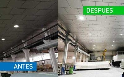 Proyecto de renovación de luminarias – Prat Poliester Piscinas
