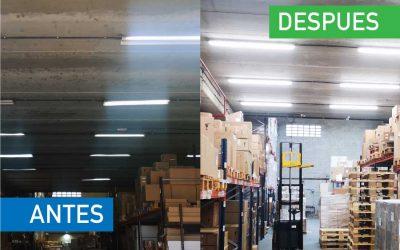 Seko Ibérica – Renovación de Iluminación obsoleta por Iluminación LED Profesional