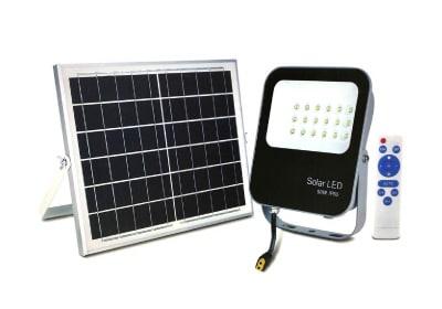 LED Industrial - Foco Exterior SOLAR LED