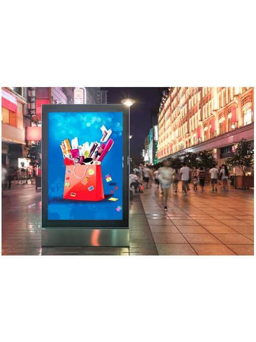 Campana LED Industrial para interior 1 2 0000 Totem LCD Outdoor