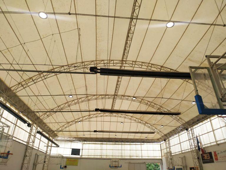 Iluminacion LED deportiva Pista Basket terrasa luminarias