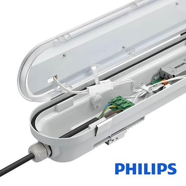regleta estanca led 40w philips driver coreplus cct 120cm factorled